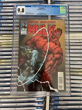 HULK #26 NM/MT 9.8 CGC Red Hulk Vs THOR Ed McGuinness