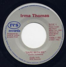 "IRMA THOMAS - ""SAFE WITH ME"" b/w ""ZERO WILLPOWER""  on RCS (M-)"