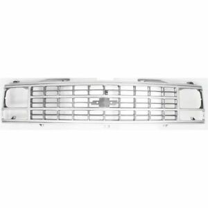 New Grille for Chevrolet C1500 GM1200141 1988 to 1993