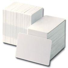 Blank White PVC Plastic ID Cards CR80 - 760 Micron Qty's 10-1000 Free P&P