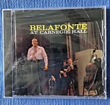 HARRY BELAFONTE - BELAFONTE AT CARNEGIE HALL [W/REMASTERED VERSIONS] NEW CD