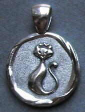 1967 50th birthday lucky Sixpence CAT charm Pendant present + gift box animal