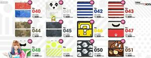 NEW Nintendo 3DS Cover Plates Official Japanese Coverplate