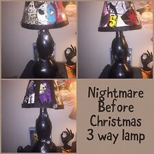 Nightmare Before Christmas 3way Lamp And Shade