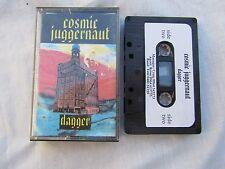 CASSETTE COSMIC JUGGERNAUT DAGGER metal independent press promo?