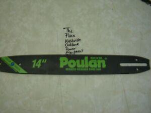 "New 14"" Poulan  / Woodshark Chainsaw Bar 52 Drive Link"