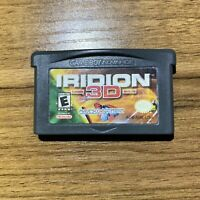 Iridion 3D (Nintendo, Gameboy Advance) GBA Cart Only Authentic And Tested