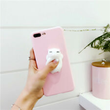 For iPhone7 Squishy 3D Silicone Cat Kneading Phone Case Cover For iPhone 8 Plus