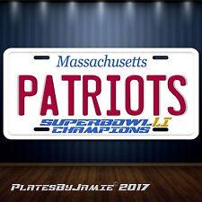 New England Patriots Superbowl 51 LI License Plate Tag