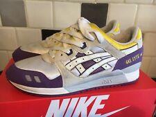 Asics Gel Lyte III GL3 Lakers UK 7 Retro Rare