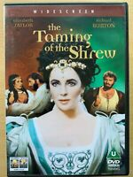 Taming of the Shrew DVD 1967 William Shakespeare Classic w/ Elizabeth Taylor
