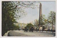 London postcard - Cleopatra's Needle, Thames Embankment, London