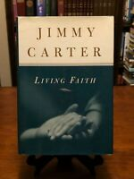 LIVING FAITH by Jimmy Carter (1ST EDITION - HC) Like New Condition!!