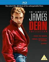 JAMES DEAN Complete Collection [Blu-ray] 3-Movie Set Giant, East of Eden, Rebel