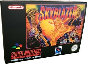 Skyblazer Super Nintendo Game Box Made For You SNES - I Can Make others Just Ask