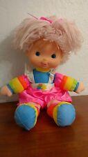 """Vintage 1983 Rainbow Brite Doll Tickled Pink Baby Hallmark Plush 15"""""""