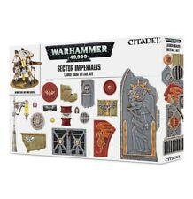 Warhammer 40k Sector Imperialis Large Base Detail Kit NIB