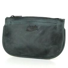 Mr. Brog Pipe Tobacco Pouch - Diesel Leather - [Slate Black]