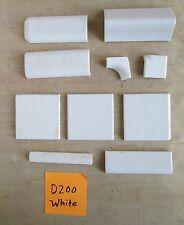 Discontinued vintage Daltile Dal tile Dura crystal glaze White Antique Almond
