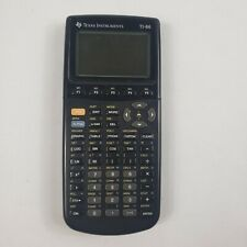 Texas instrument  graphing calculator Ti 86