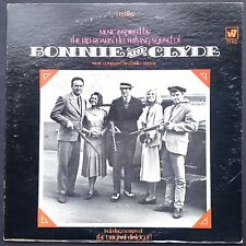 US import! Charles Strouse BONNIE & CLYDE soundtrack LP 1968 Beatty Faye Dunaway