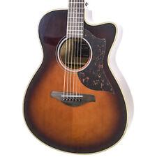 Brand New Yamaha AC1M Tobacco Brown Sunburst Acoustic Electric Guitar #140