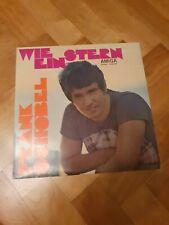 LP Amiga 855299, Wie ein Stern, Frank Schöbel, 1972,