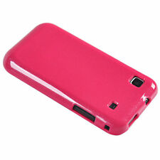 Hot Pink Gel Case for Samsung Galaxy S i9000