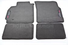 2005 2006 GENUINE MITSUBISHI EVOLUTION EVO VIII IX MR CARPET FLOOR MATS MZ313291