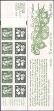 Sweden 1993 Pear/Gooseberry/Fruit/Food/Plants/Nature/Animation 10v bklt (n45384)
