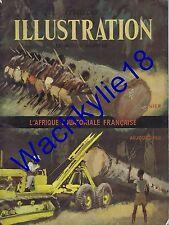 France illustration n°243 10/06/1950 L'Afrique Équatoriale Française A.E.F. Gide