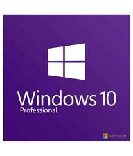 Windows 10 Pro 64 Bit DVD Software Deutsch Professional (Original Microsoft Key