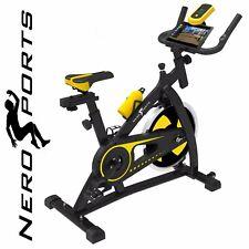 Nero Sports Exercise Bike Studio Cycle Indoor Training - 12kg Spinning flywheel