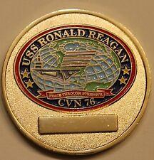 USS Ronald Reagan (CVN-76) Aircraft Carrier Chiefs Mess Navy Challenge Coin