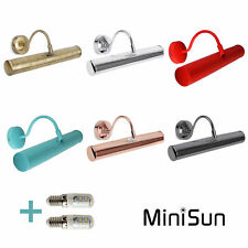 MiniSun LED Picture Wall Light Traditional Brass Clasic Light Art Painting