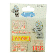Me to You Tatty Teddy 'Easter Sentiments' Clear Stamps *Free UK P+P*
