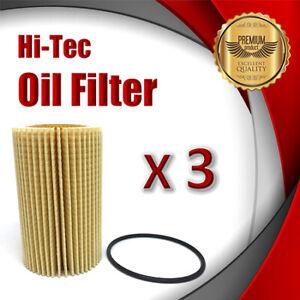 3xOil Filter R2651P/WCO80 Fits Toyota LandCruiser VDJ76 VDJ78 VDJ79 VDJ200 URJ20