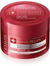 20,90EUR/100ml EVELINE SWISS RECIPE SOS Multi Creme Gesicht & Körper UREA 50 ml