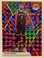 Kevin Durant 2019-20 Panini Mosaic Blue Reactive Prizm MINT HOT INVEST🔥
