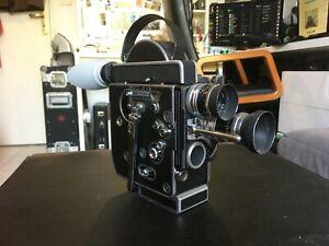 Bolex H16 Rex4 + Kern Switar 10mm & 25mm + accessories