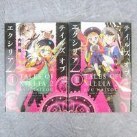 TALES OF XILLIA 2 Vol.1 & 2 Manga Comic RYU NAITOU 2 Books Set Japan Book MW*