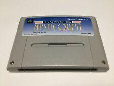 Final Fantasy USA Mystic Quest SQUARE Super Famicom JAPAN SFC SNES