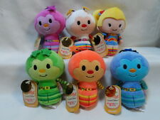 Hallmark Itty Bittys Set Limited Edition Rainbow Brite IQ Twink Lucky Champ O.J.