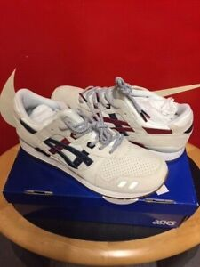 Asics Gel Lyte 3 Packers Us open Cream Navy uk 10 usa 11   shoes trainers