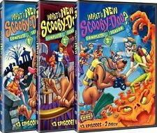 What's New Scooby-Doo .. The Complete Season 1 + 2 + 3 ... 6 DVD .. NEU .. OVP