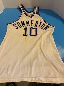Vintage Summerton SC Basketball Jersey #10
