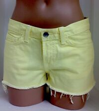 Jbrand Shorts Bright Yellow 25