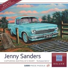 Blue Opal Jigsaw Puzzles Deluxe 1000 Piece The Reliable Old Ute by Jenny Sanders
