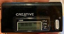 Creative Zen Nano Black 1Gb Wma Mp3 Digital Media Player