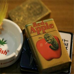 Movie Inglourious Basterds Red Apple Cigarette Box Smoking Set Storage Fitting